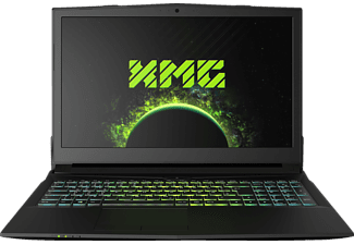 XMG A507 - M18, Gaming Notebook mit 15.6 Zoll Display, Core™ i7 Prozessor, 8 GB RAM, 250 GB SSD, GeForce GTX 1050 Ti, Schwarz