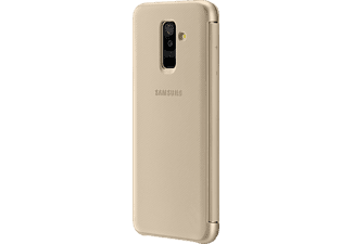 SAMSUNG Wallet Bookcover Samsung Galaxy A6+  Gold