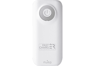 PURO Fast Battery Powerbank  Weiß
