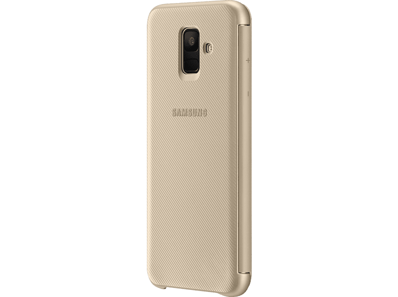 SAMSUNG Wallet Bookcover Samsung Galaxy A6  Gold