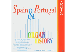 Arturo Sacchetti - Organ Historie-Spain & Portugal [CD]