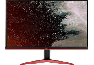 ACER KG271C 27 Zoll Full-HD Gaming Monitor (1x DVI, 1x HDMI, 1x DisplayPort, 1x Audio IN/OUT Kanäle, 1 Reaktionszeit, 144 Hz)