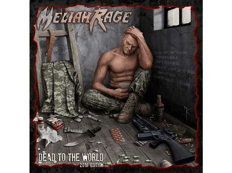 Meliah Rage - Dead To The World (2018 Edition) [CD]