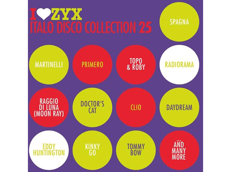 VARIOUS - ZYX Italo Disco Collection 25 [CD]
