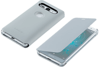 SONY Style C. Stand Backcover Sony Xperia XZ2 Compact  Silber