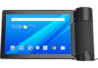 LENOVO Home Assistant Pack mit Tab 4 10    10.1 Zoll Tablet + Home Assistant Slate Black/Schwarz