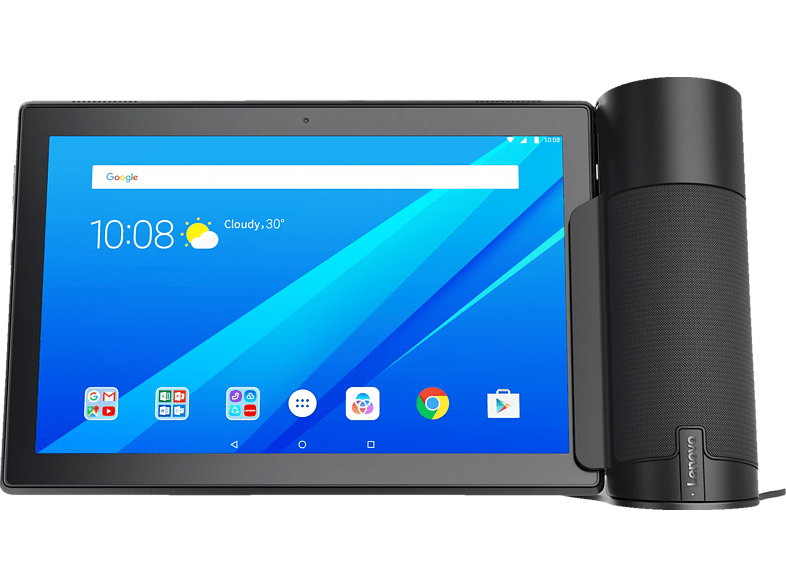 LENOVO Home Assistant Pack mit Tab 4 10, Tablet + Home Assistant , 10.1 Zoll, Slate Black/Schwarz