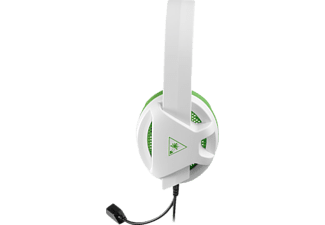 TURTLE BEACH Recon Chat Headset, Gaming Headset, Weiß/Grün