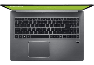 ACER Swift 3 (SF315-51-32NB), Notebook mit 15.6 Zoll Display, Core™ i3 Prozessor, 4 GB RAM, 128 GB SSD, HD Grafik 620, Iron Grey