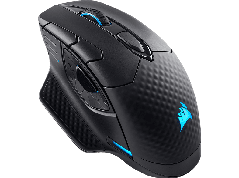 CORSAIR DARK CORE RGB Gaming Maus, Schwarz