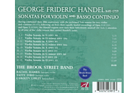 The Brook Street Band - Sonatas For Violin And Basso Continuo [CD]