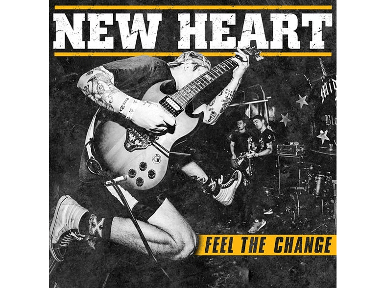 New Heart - Feel The Change [LP + Download]