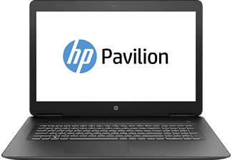 HP Pavilion 17-ab373ng, Notebook mit 17.3 Zoll Display, Intel® Core™ i7 der siebten Generation Prozessor, 8 GB RAM, 1000 GB HDD, Intel HD Graphics 630; NVIDIA GeForce GTX 1050 Ti; NVIDIA GeForce GTX 1050 Ti, Schwarz