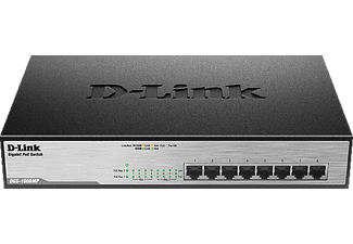 D-LINK 8-Port Layer2 PoE+ Gigabit Switch, Standard Switch
