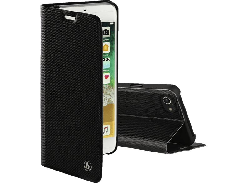 HAMA  Slim Pro Bookcover Apple iPhone 7, iPhone 8 Polyurethan Schwarz | 04047443383792