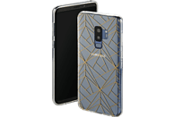 HAMA Golden Graphics Backcover Samsung Galaxy S9+ Thermoplastisches Polyurethan Transparent