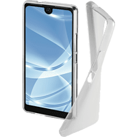 HAMA Crystal Backcover Wiko View 2 Thermoplastisches Polyurethan Transparent