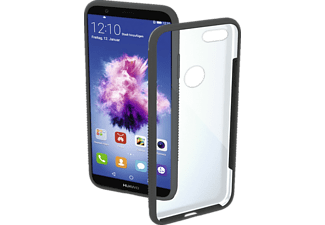 Frame Backcover Huawei P smart Polycarbonat/Thermoplastisches Polyurethan Grau/Transparent