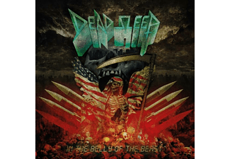 Dead Sleep - In The Belly Of The Beast (Ltd.Red LP) - (Vinyl)