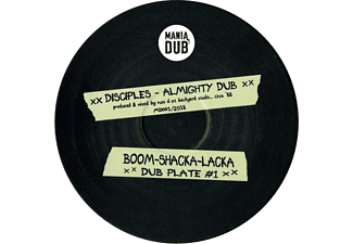 The Disciples - Almighty Dub/Zion Rock Dub - (EP (analog))
