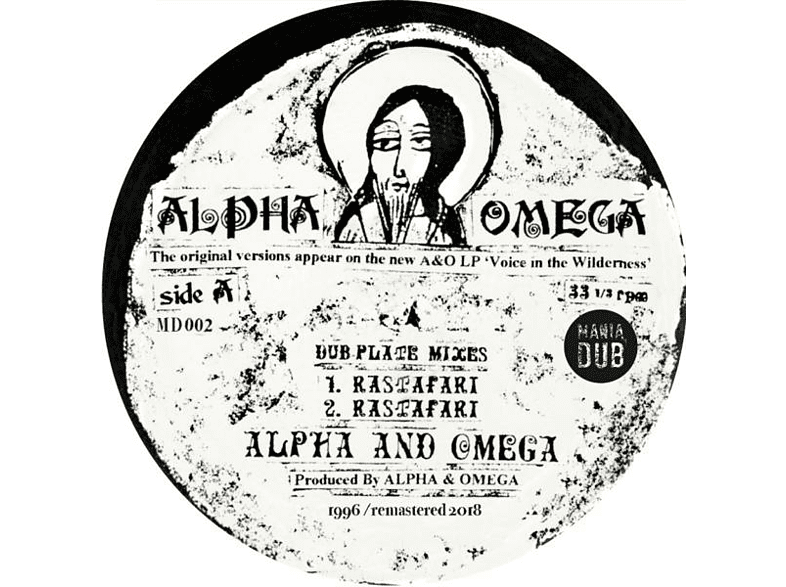 Alpha & Omega - Rastafari/Words Of Thy Mouth (Remastered 10'') [EP (analog)]