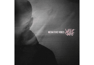 Words Of Concrete - Negative Vibes (Ltd.White Marble Vinyl) [Vinyl]