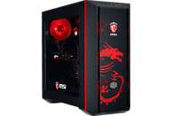 HYRICAN MSI DRAGON E. 5926, Gaming PC mit Core™ i7 Prozessor, 16 GB RAM, 240 GB SSD, 1 TB HDD, GeForce® GTX 1070 Ti, 8 GB