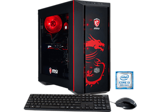 HYRICAN MSI DRAGON E.5918, Gaming PC mit Core™ i3 Prozessor, 16 GB RAM, 120 GB SSD, 1 TB HDD, Geforce® GTX 1050 Ti, 4 GB GDDR5 Grafikspeicher