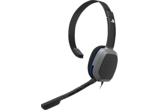 PDP Afterglow LVL 1 Chat, Gaming Headset, Schwarz/Silber