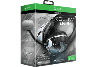 PDP Afterglow LVL 5X Stereo, Gaming Headset, Schwarz/Weiß/Camouflage