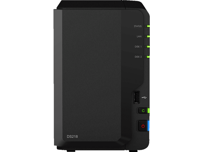 SYNOLOGY DS 218 2 BAY NAS  3.5 Zoll extern