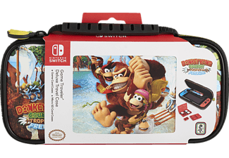"ALS Deluxe Travel Case ""Donkey Kong Country: Tropical Freeze"", Nintendo Switch Tasche, Mehrfarbig"