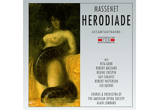 Chorus & Orchestra Of The American Opera Society - Herodiade - (CD)