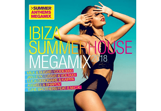 VARIOUS - Ibiza Summerhouse Megamix 2018 - (CD)