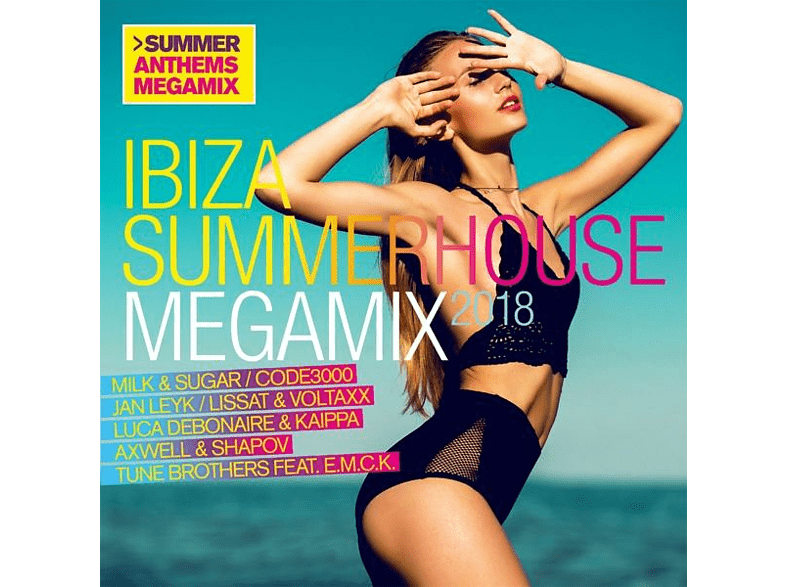 VARIOUS - Ibiza Summerhouse Megamix 2018 [CD]