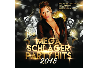 VARIOUS - Mega Schlager Party Hits 2018 - (CD)