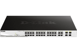 Smart Switch D-LINK 28-Port Layer2 PoE+ 28