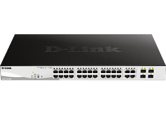 D-LINK 24-Port Layer2 PoE, Smart Switch