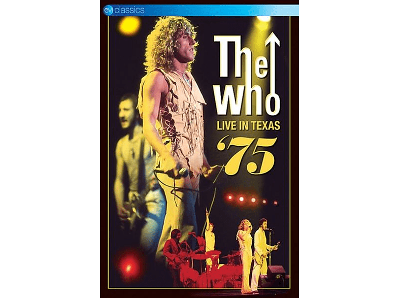 The Who - Live In Texas '75 (DVD) [DVD]