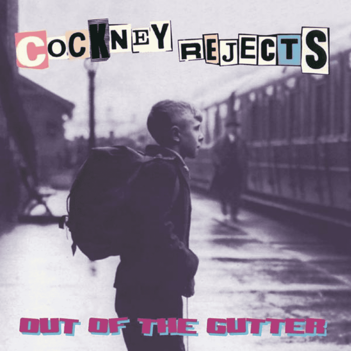 Out Of The Gutter Cockney Rejects auf Vinyl