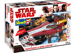 REVELL Resistance A-wing Fighter, red Bausatz, Mehrfarbig