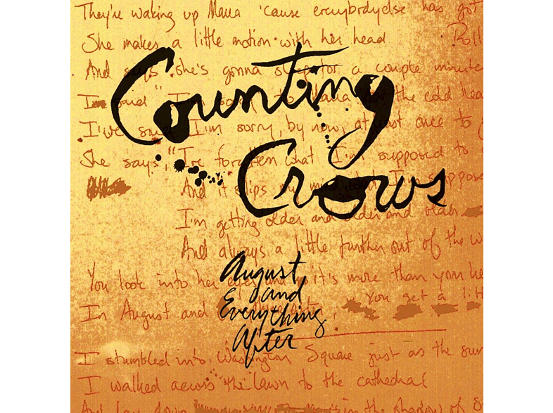 Counting Crows - August And Everything After [Vinyl]