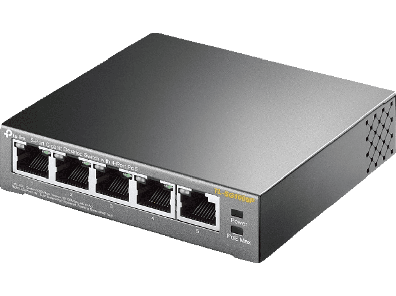 TP-LINK TL-SG 1005 P 5 PORT GIGABIT SWITCH MIT POE Switch