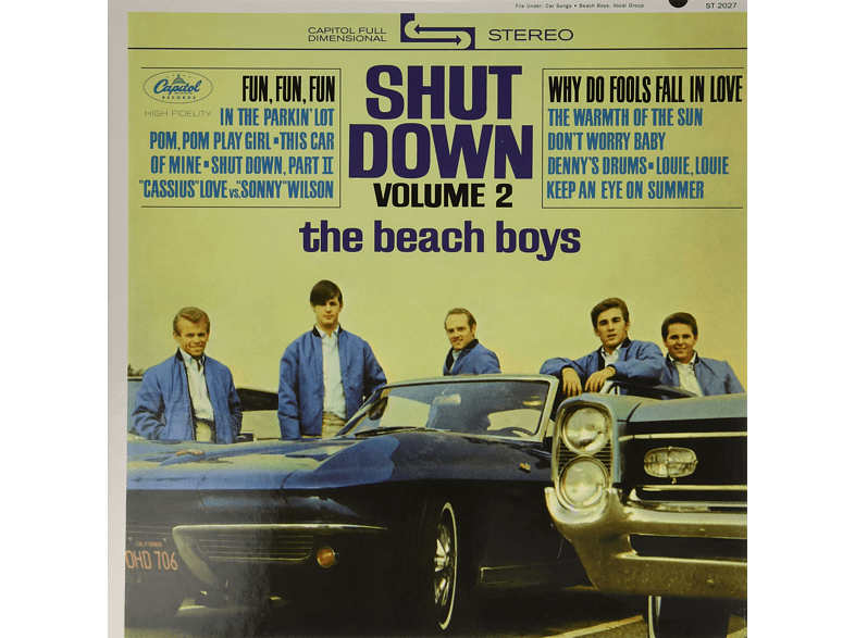 The Beach Boys - Shut Down, Vol. 2 [Vinyl]