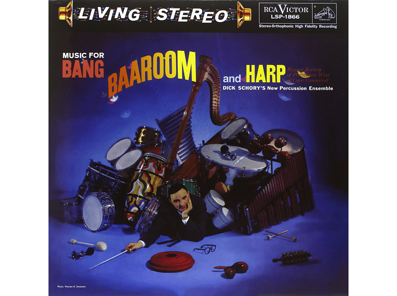 Dick Schory's New Percussion Ensemble - Music For Bang, Baaroom And Harp [Vinyl]