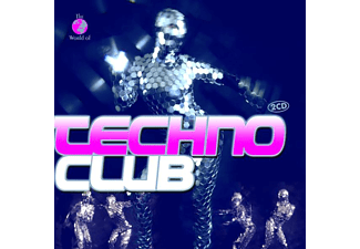 VARIOUS - Techno Club - (CD)