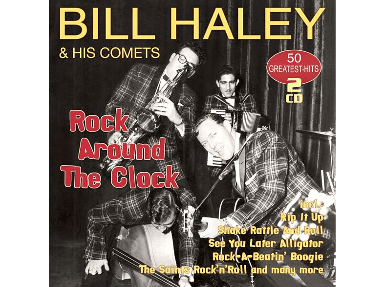 Bill Haley & His Comets - ROCK AROUND THE CLOCK-50 GREATEST [CD]