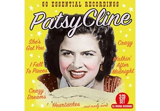 Patsy Cline - 60 Essential Recordings - (CD)