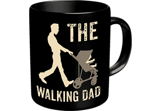 RAHMENLOS The Walking Dad Tasse Merchandise, Schwarz