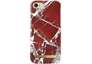 IDEAL OF SWEDEN Fashion Case S/S18 till iPhone 8/7/6S/6 Mobilskal - Scarlet Red Marble